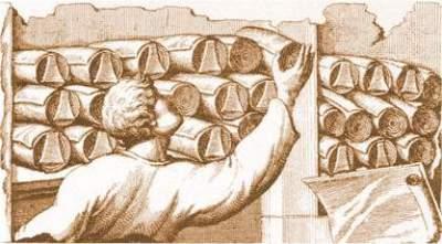 Papyrus rolls