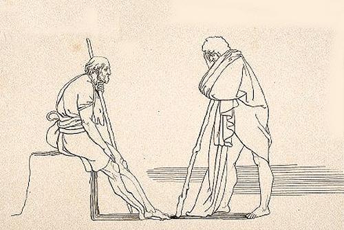 Image Gallery eumaeus loyalty Odysseus And Telemachus Meet
